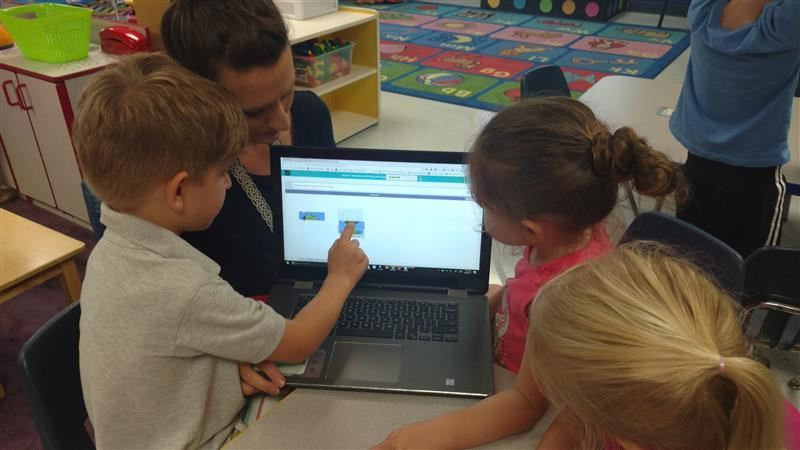 Pre-K Students Learn to Code